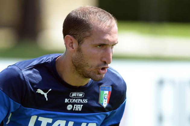 Report: Chiellini to Pen Juve Extension