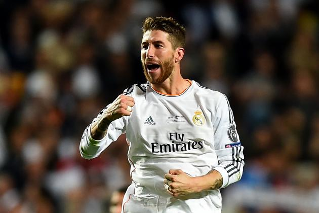 Sergio Ramos Gets Champions League Trophy Tattoo to Match His World Cup Ink