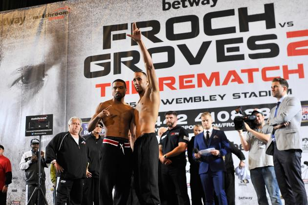 Froch vs. Groves 2 Undercard: Live Results and Highlights for Every Fight