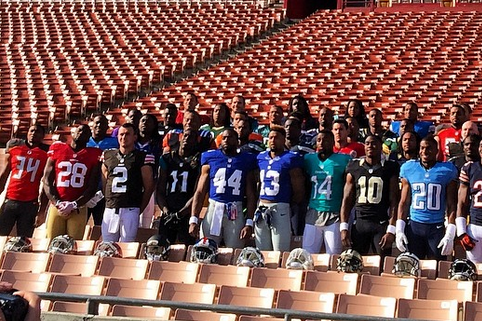 NFL Rookies Show off Their Sunday Uniforms for First Time