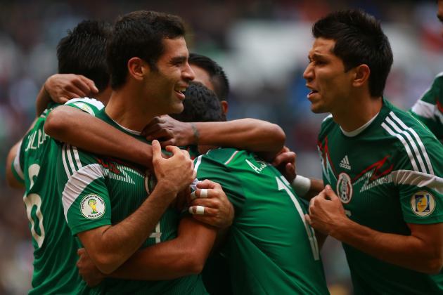 Mexico vs. Ecuador: Live Player Ratings for El Tri
