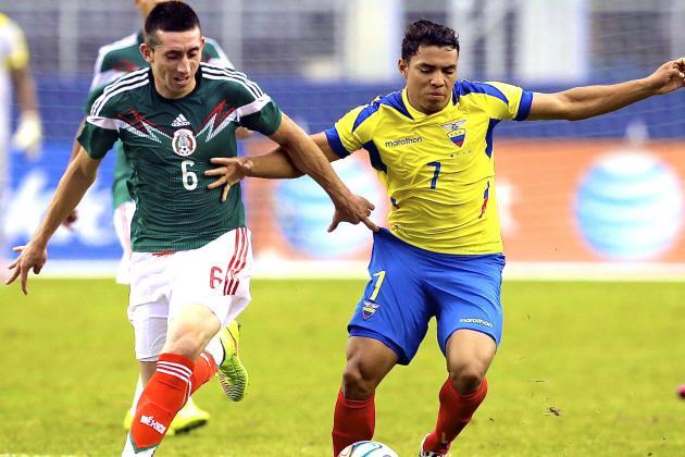 Mexico vs. Ecuador: International Friendly Live Score, Highlights, Report