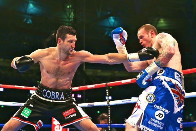 Froch vs. Groves 2: Live Round-by-Round Results and Highlights