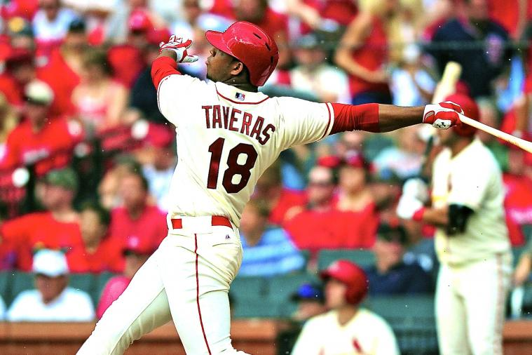 Cardinals' Oscar Taveras Hits Home Run for 1st Career Hit