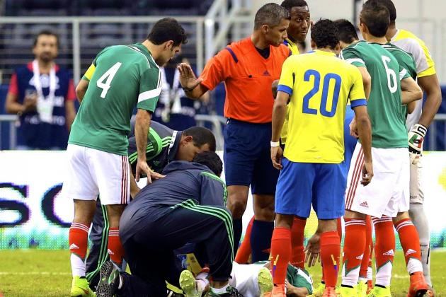 Luis Montes Injury: Updates on Mexico Star's Leg and Return