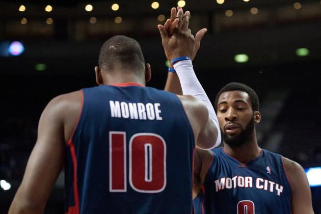 Report: Detroit Pistons Plan on Keeping Greg Monroe with Andre Drummond