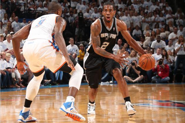 San Antonio Coach Gregg Popovich Anoints Kawhi Leonard 'The Future of the Spurs'