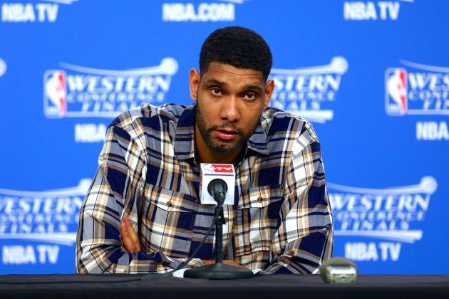 Tim Duncan: Spurs 'Happy' Facing Heat Again, Still Have 'Bad Taste in Our Mouth'
