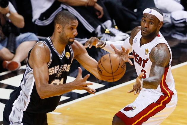 NBA Playoff Schedule 2014: TV Info and Start Times for Heat vs. Spurs Final