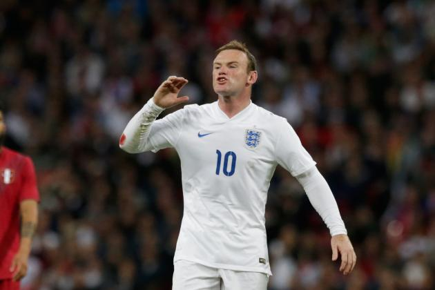 England: How Would They Line Up If Roy Hodgson Dropped Wayne Rooney