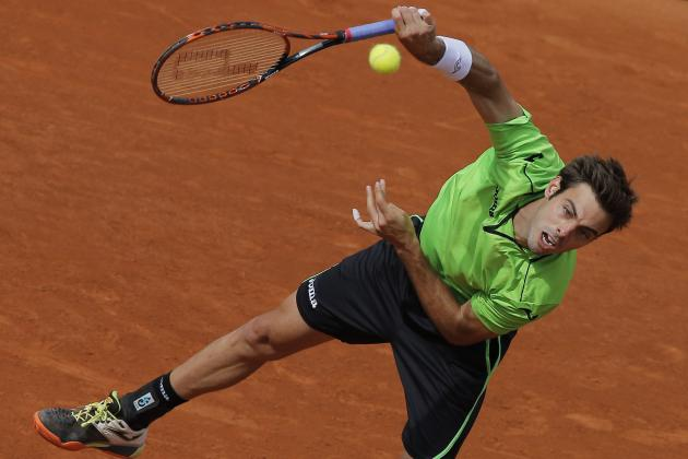 French Open 2014 Scores: Complete Results and Breakdown from Day 8
