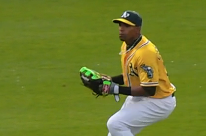 Yoenis Cespedes Guns Down Two Players at Home in Same Inning, Has Monster Game
