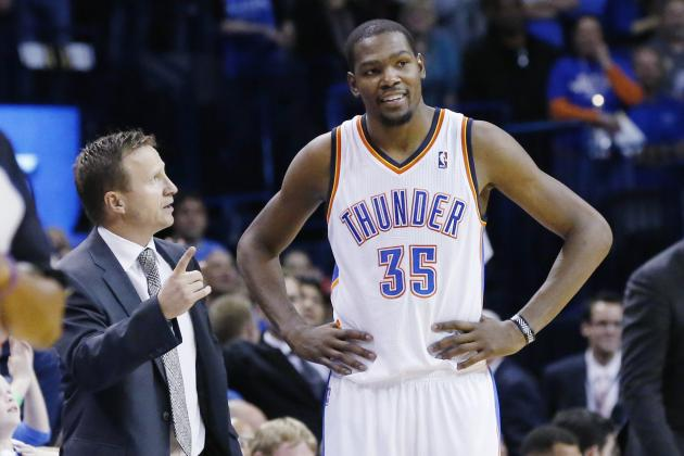 Kevin Durant, Russell Westbrook Endorse Scott Brooks as OKC Thunder Coach