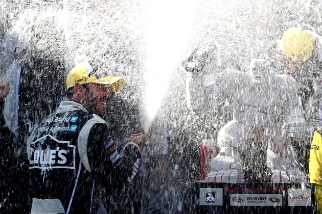 NASCAR at Dover 2014: Live Results and Analysis from FedEx 400