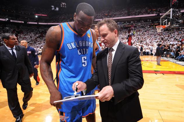 Scott Brooks Non-Committal About Starting Kendrick Perkins Next Season
