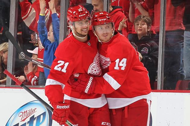 Gustav Nyquist and Tomas Tatar Are the Future Core of Detroit Red Wings