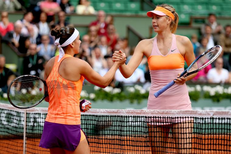 Maria Sharapova vs. Samantha Stosur: Score and Recap from 2014 French Open