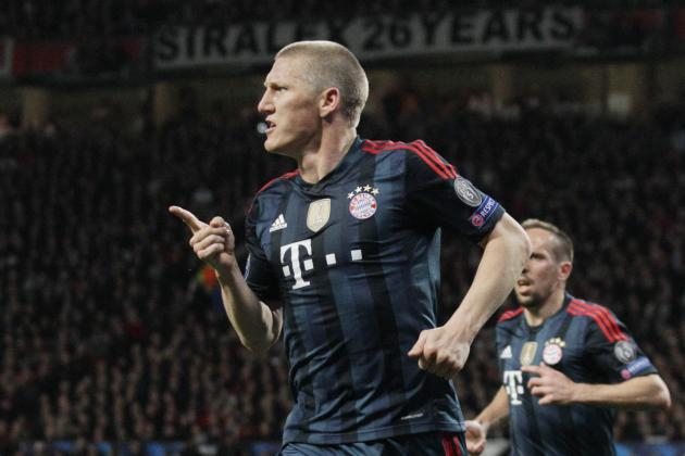 Manchester United Transfer News: Bastian Schweinsteiger Wanted in 4-Man Raid