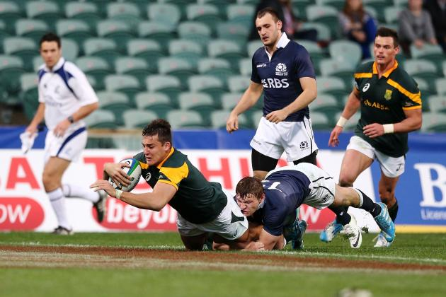 Usual Suspects to the Fore on Day 1 at Junior Rugby World Cup