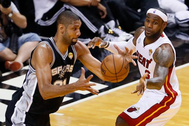 Does LeBron James or Tim Duncan Have More on the Line in 2014 NBA Finals?