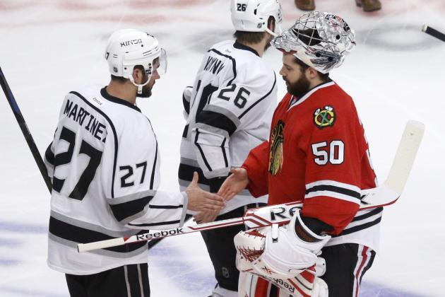 Chicago Blackhawks: LA Kings More Than Lucky, They Were Good