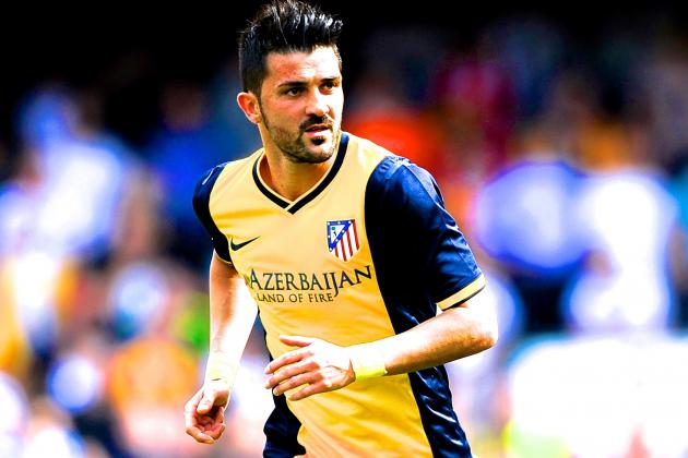 David Villa to New York City FC: Atletico Madrid Star Officially Moves to MLS