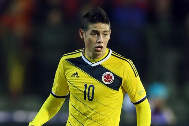 Why James Rodriguez Will Have a Massive World Cup for Colombia