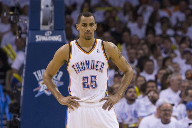 Thabo Sefolosha Uncertain If He'll Return to Oklahoma City Thunder Next Season