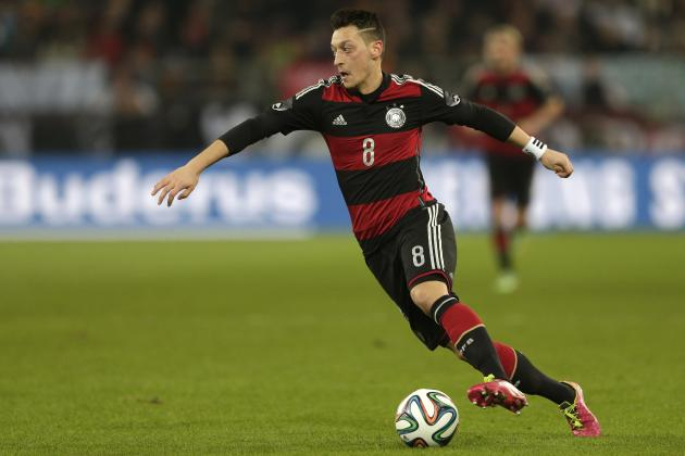 Why World Cup Form of Mesut Ozil Will be Key As Germany Confirm 2014 Squad