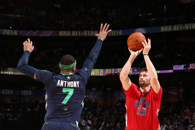 Carmelo Anthony or Kevin Love: Who's Better Dream Fit for Houston Rockets?