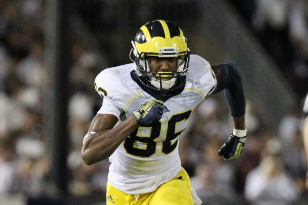 Michigan Has Plenty Options at Wide Receiver for 'Next Man Up'