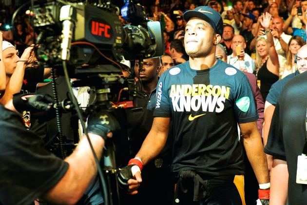 Anderson Silva Wants Early 2015 Return, Considering Bout with Nick Diaz