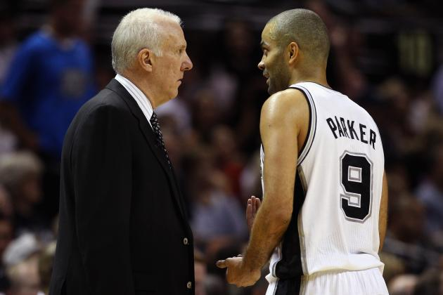 Spurs' Tony Parker Climbing Up All-Time Playoff Scoring List