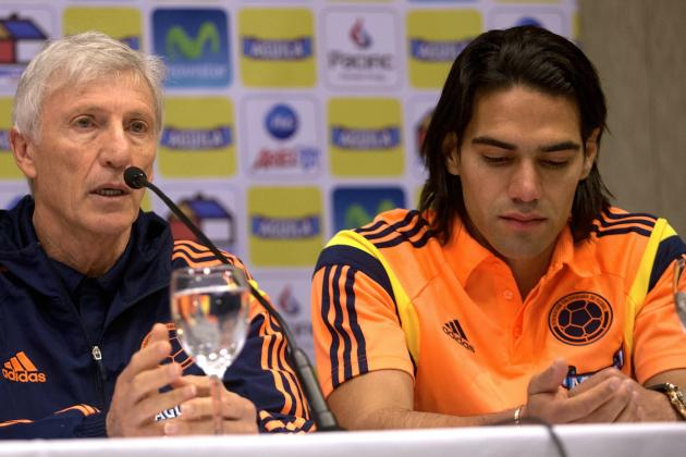 Radamel Falcao Left off Colombia's World Cup Roster