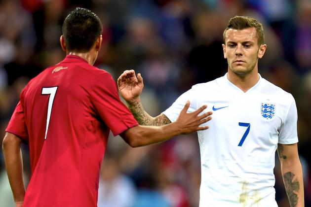 Wilshere, Sterling, Barkley Can Force Their Way into Hodgson's England Side