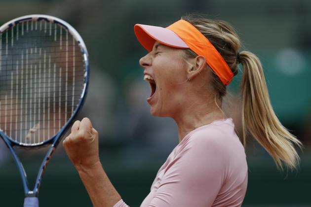 Maria Sharapova Will Cruise to 2014 French Open Final After Strong Start