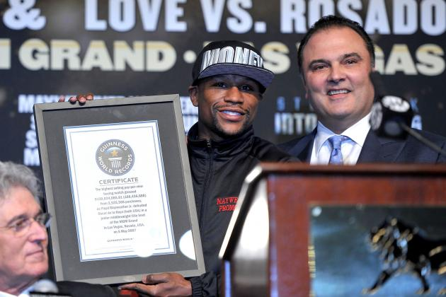 Floyd Mayweather Reportedly Ends Relationship with Golden Boy Promotions
