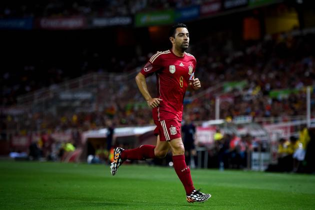 Will Xavi's Decline Hinder Spain's World Cup Chances?