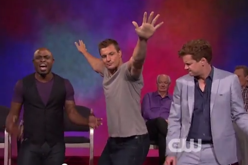 Gronk Stars on 'Whose Line Is It Anyway?'