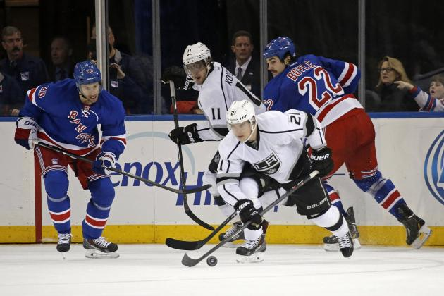 Stanley Cup Playoffs 2014: TV Schedule and Live Stream for Rangers vs. Kings