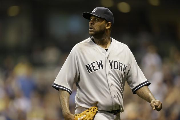 Yankees' CC Sabathia Expects to Resume Throwing on Right Knee This Week