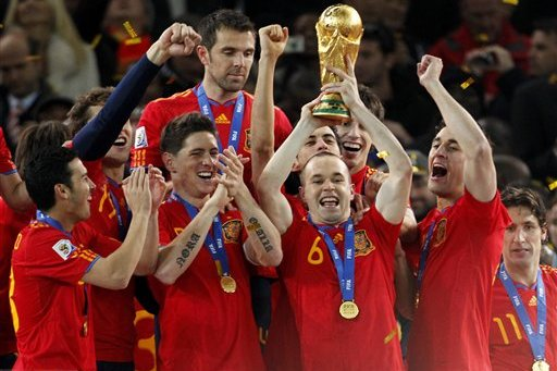 Spain World Cup 2014 Odds Lowered in Tough Group B