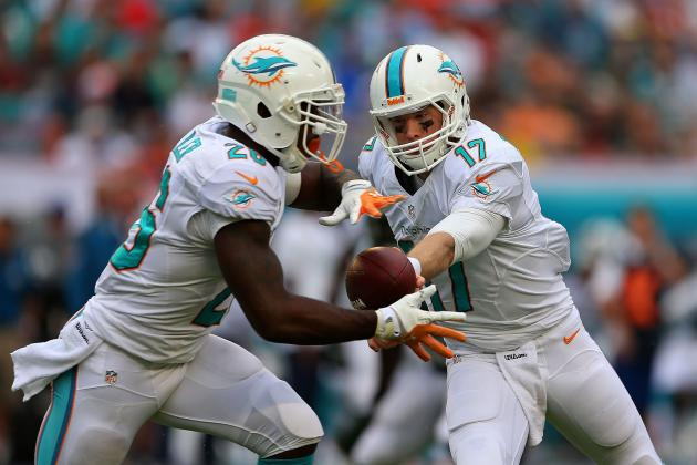 Lamar Miller Works with the Miami Dolphins Starters
