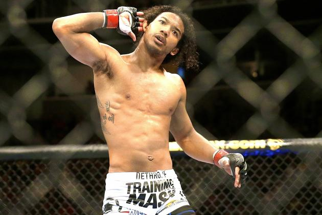Fight Night 42: The Next Step the Only One That Matters to Benson Henderson