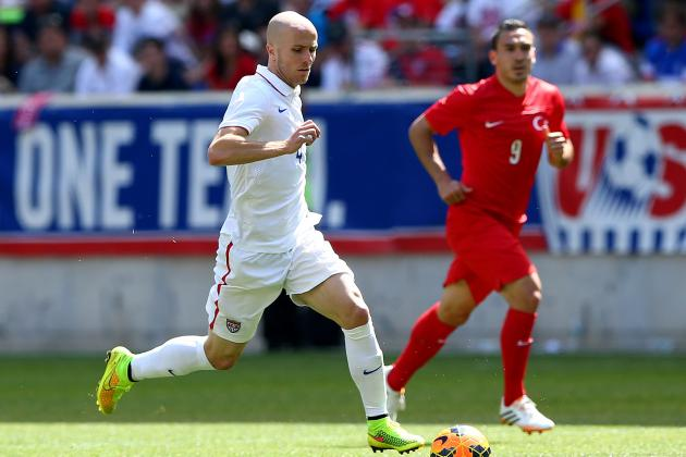 Jurgen Klinsmann Gambles on Michael Bradley's Scoring Prowess for U.S. Soccer