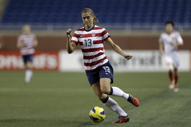 Alex Morgan Could Return from Ankle Injury