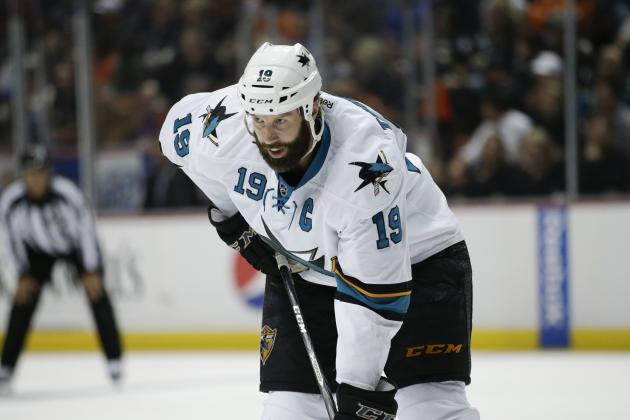 Kings' Success Sharpens Focus on Sharks' Thornton