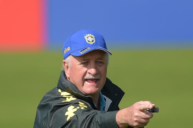 Luiz Felipe Scolari Considers Brazil Options in World Cup Preparations