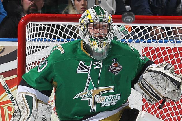 Leafs Sign QMJHL Playoff MVP Goalie Bibeau