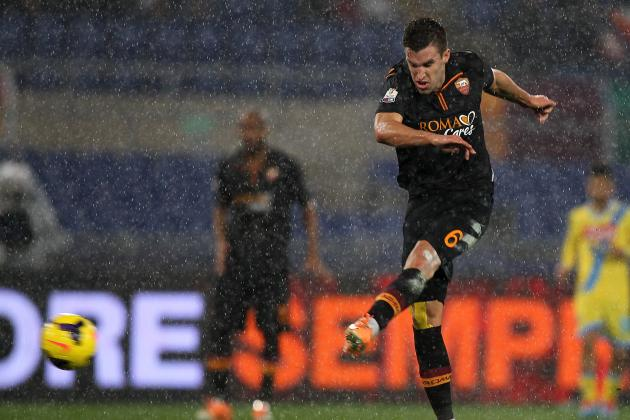 Manchester United Transfer News: Kevin Strootman Would Fill Club's Biggest Need